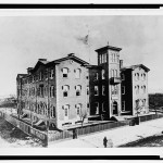 The original Washington City Orphan Asylum, precursor to the Hillcrest Center (1870)
