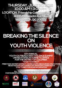 Youth Summit - Anti Violence Summit-